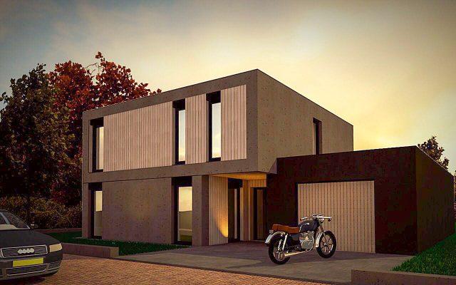 Het eerste energieneutrale PopUp House van Nederland staat in Abbenes