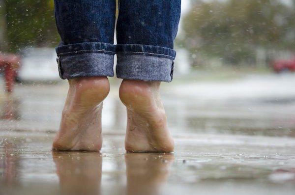 blote voeten
