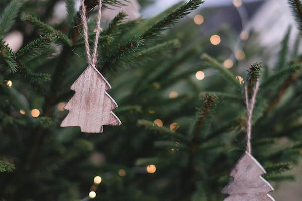 een groene kerst