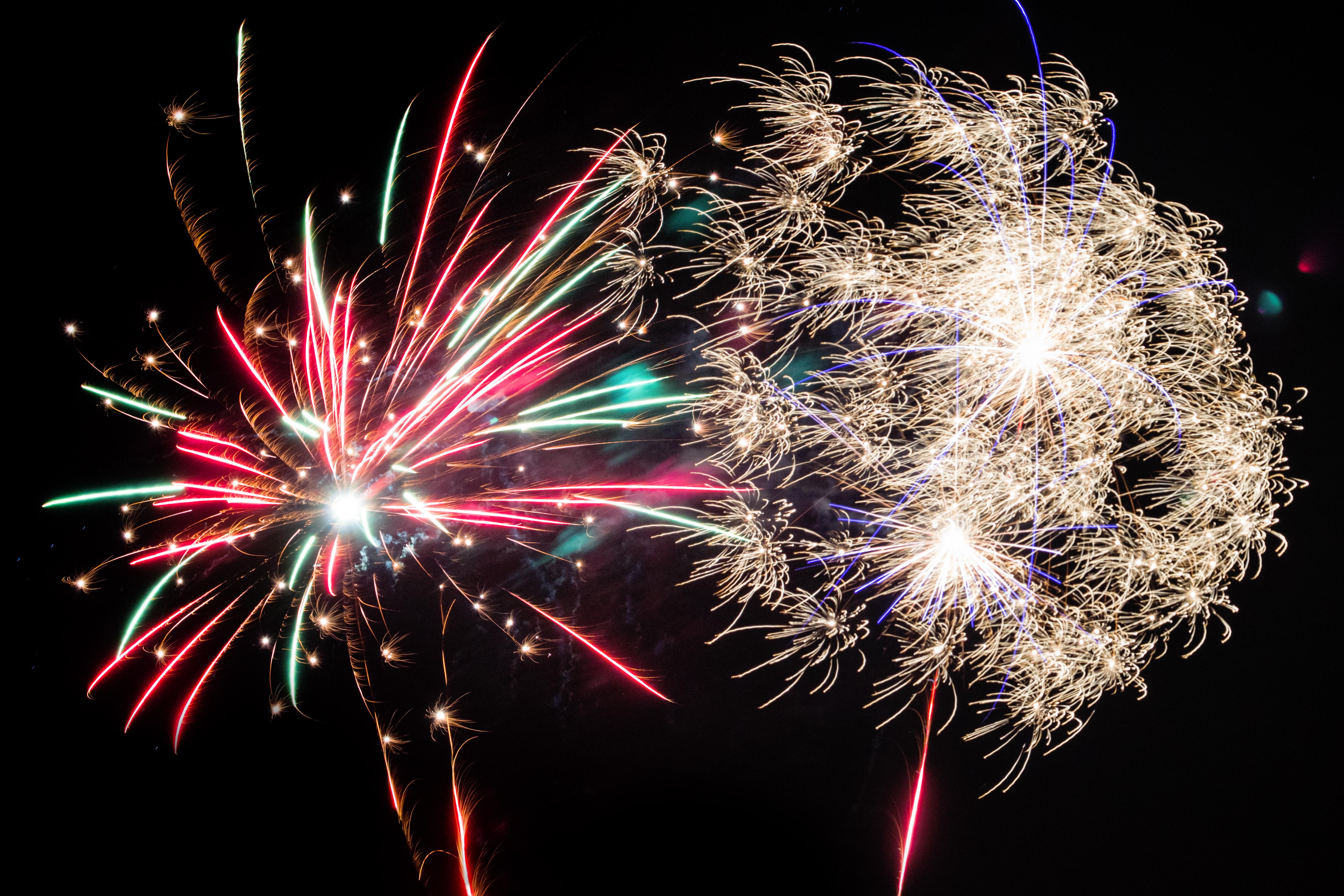 Wanneer wordt vuurwerk tijdens de jaarwisseling verleden tijd?
