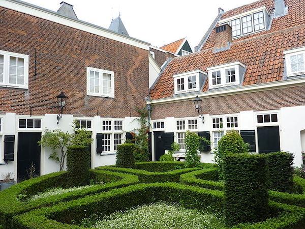 Samuel de Zee's hof in Leiden