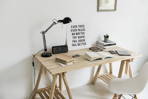 minimaliseren bureau