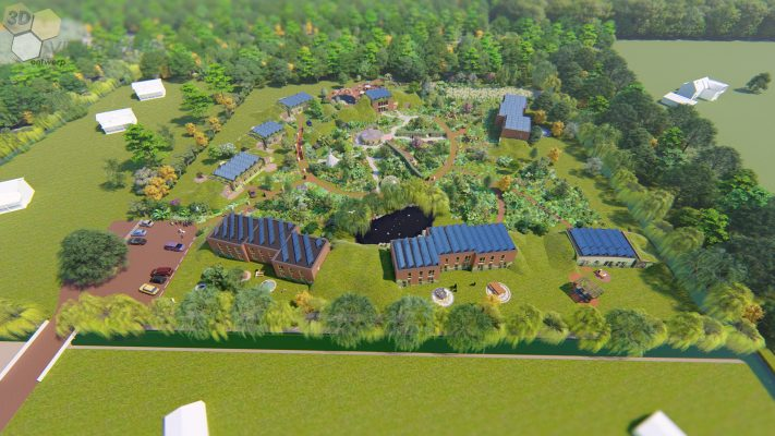 In Almere Diamondiaal kan iedereen duurzaam wonen in het groen