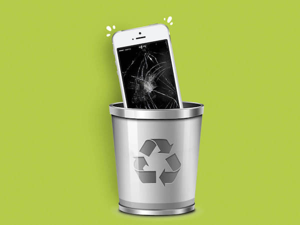 recycle je telefoon