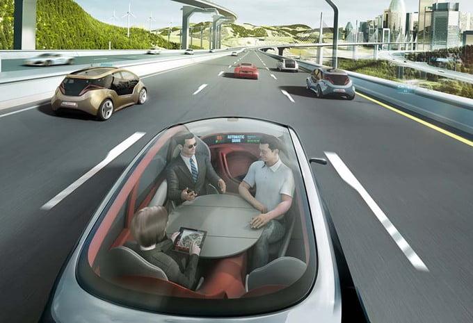 zelfrijdende auto is de toekomst