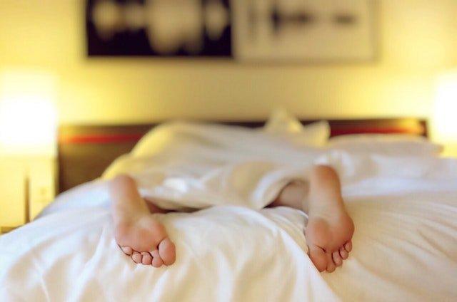 duurzaam slapen in bed