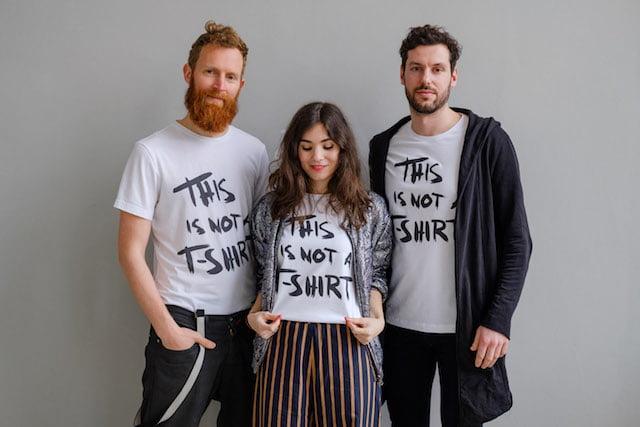 T-shirt gemaakt door vluchtelingen
