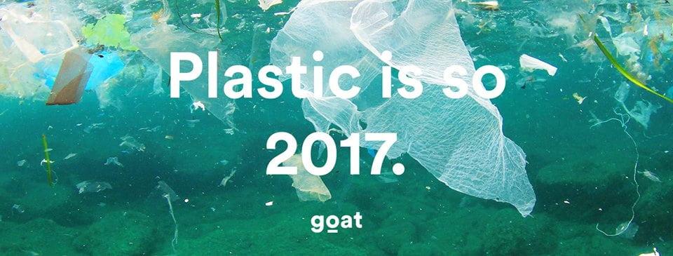 Tijd voor actie, want plastic is zó 2017