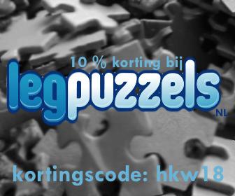 10% korting bij legpuzzels.nl