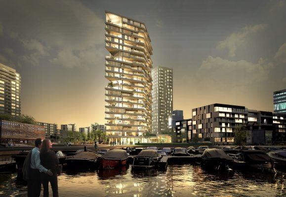 Amsterdam krijgt woontoren van hout