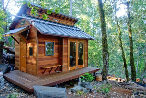 In vijf stappen naar je eigen tiny house
