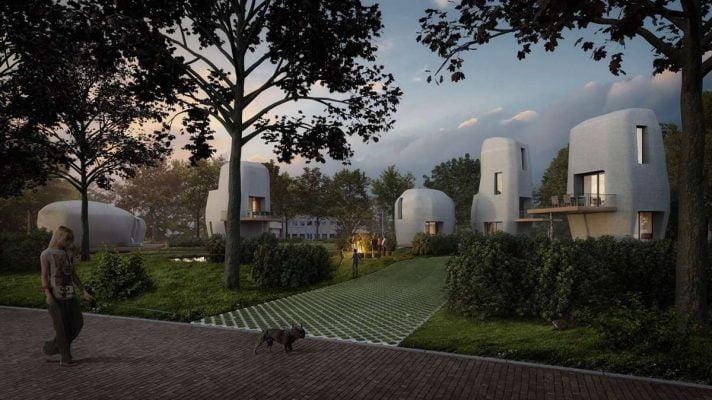 Eindhoven krijgt de eerste 3D-geprinte huizen van Nederland