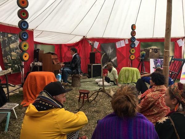 Sfeer proeven op The Living Village Festival