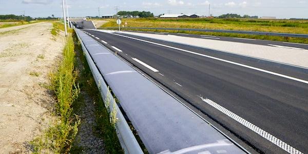 De vangrail als energiebron: een Nederlandse wereldprimeur