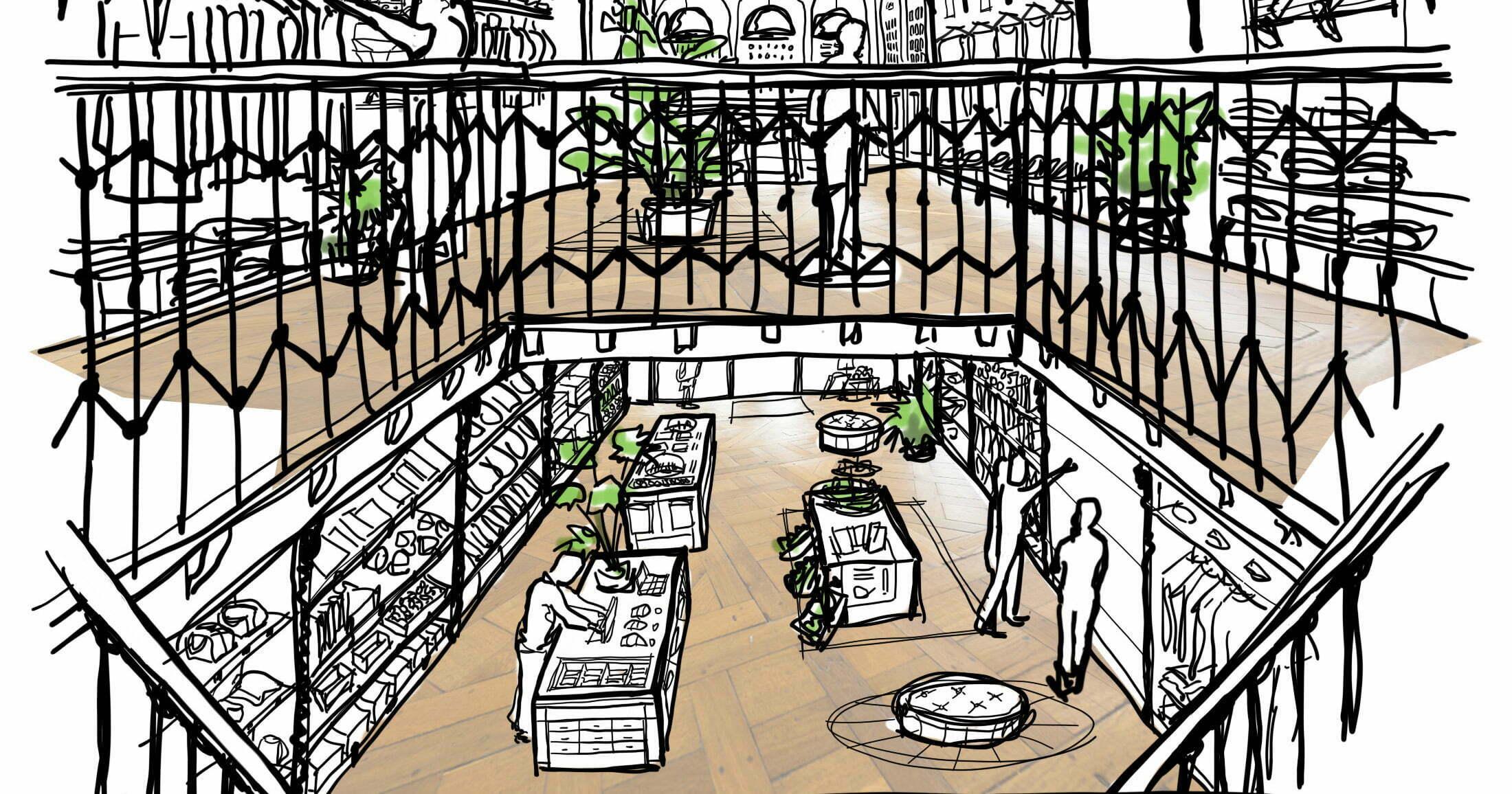 Het eerste veganistische warenhuis ter wereld moet in Den Haag komen