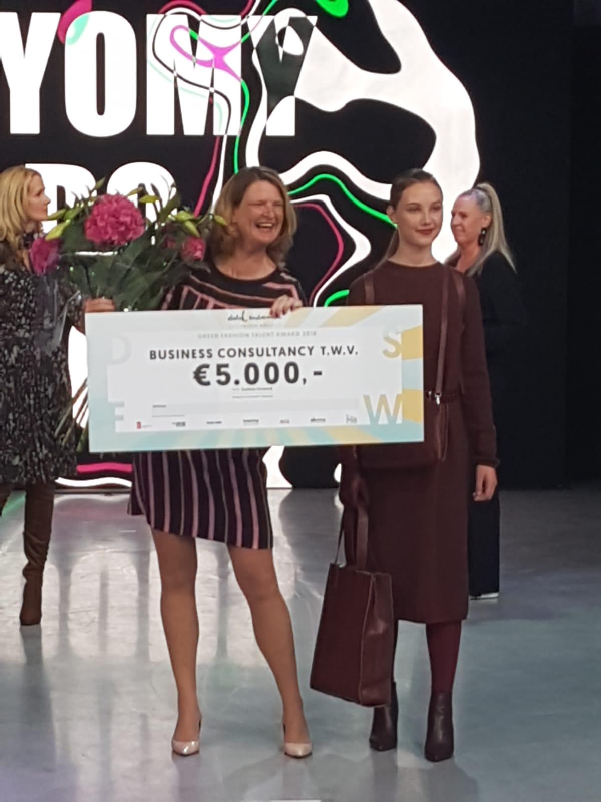 Green fashion talent award