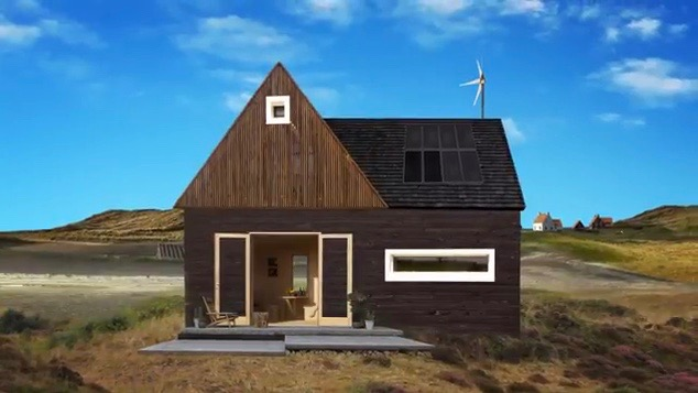 Texel vond een oplossing voor woningnood: bewegende huizen