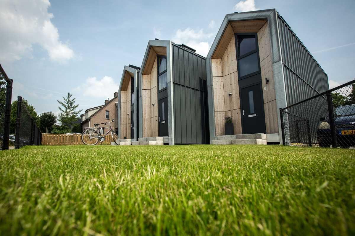 Verplaatsbare microwoningen als oplossing voor woningnood