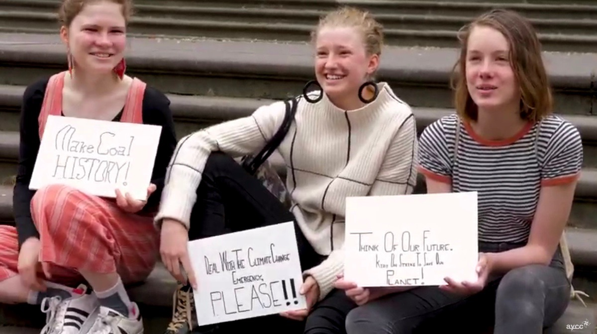 Deze jongeren laten hun stem horen voor het klimaat