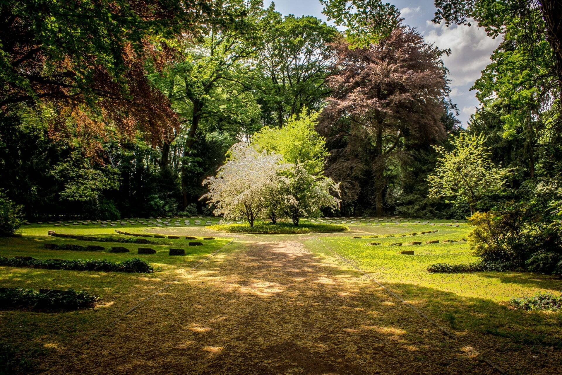 garden for silent protest