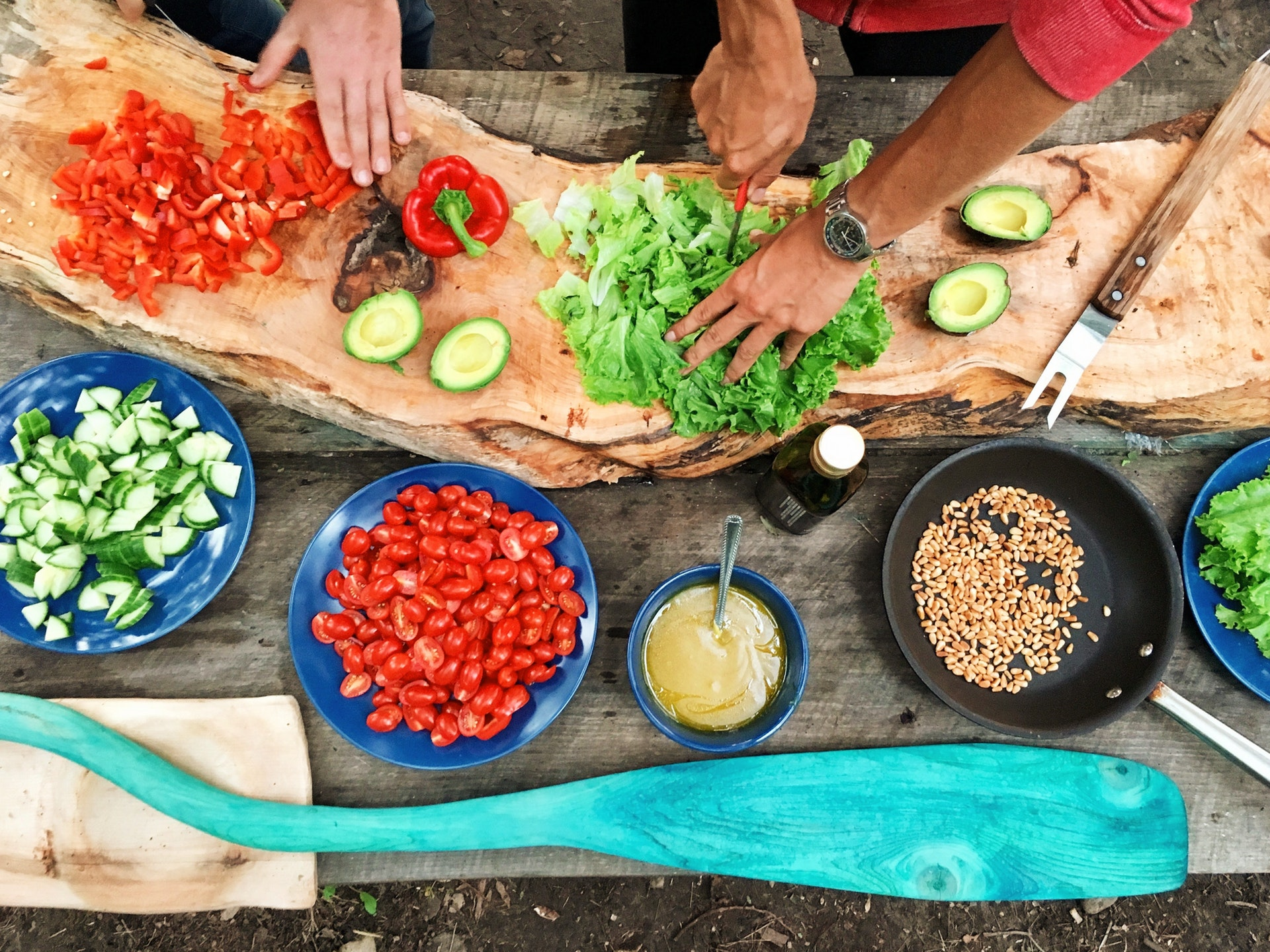 groente en fruit wassen
