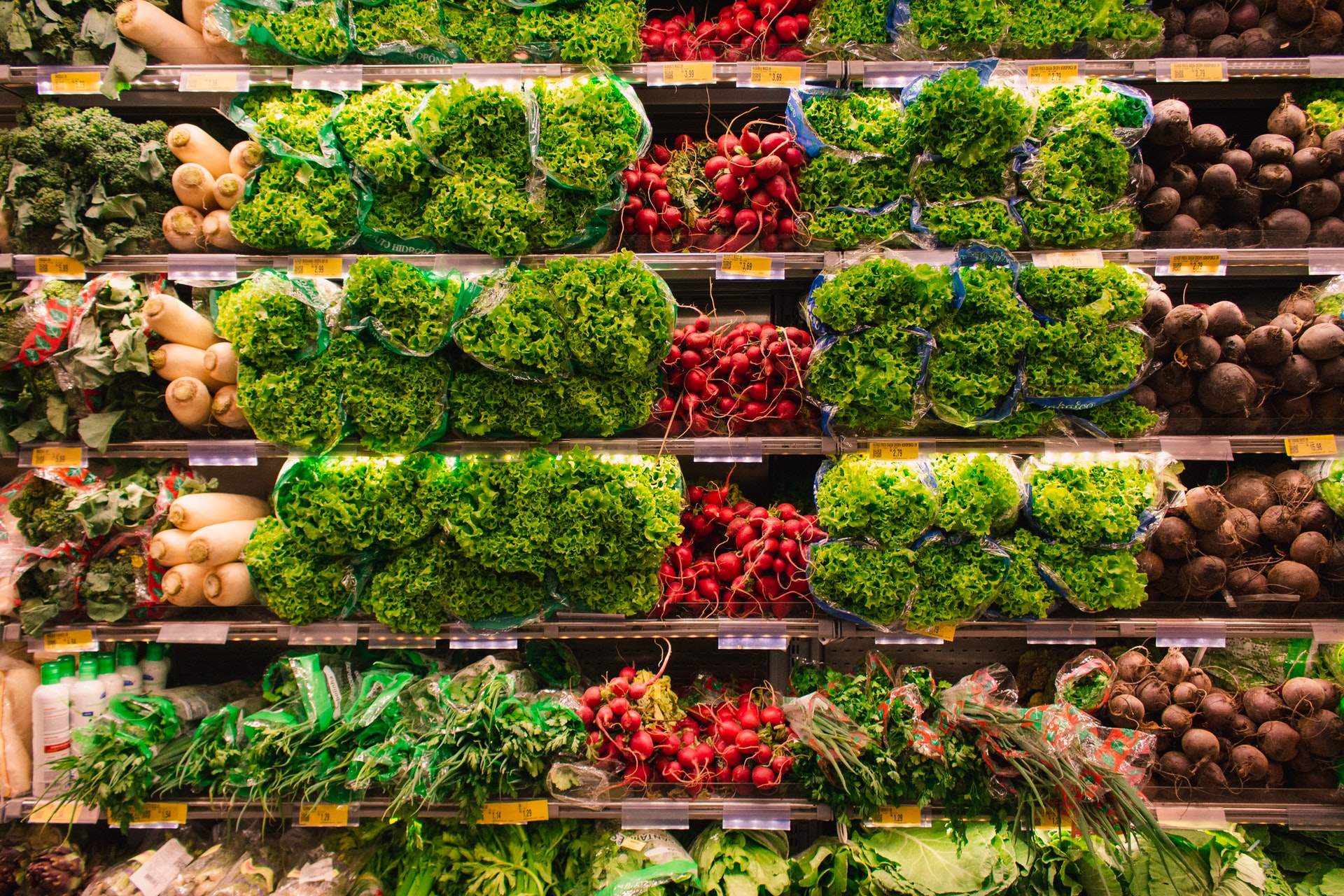 supermarkt redt voedsel