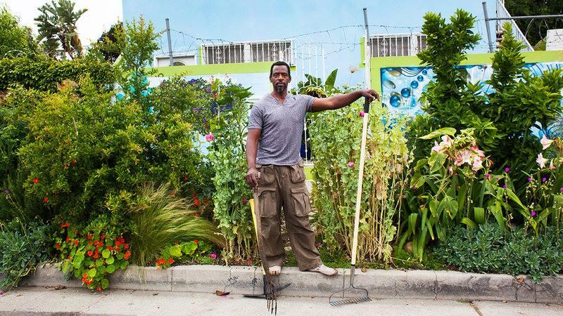 Deze man verandert zijn stad in een groene oase