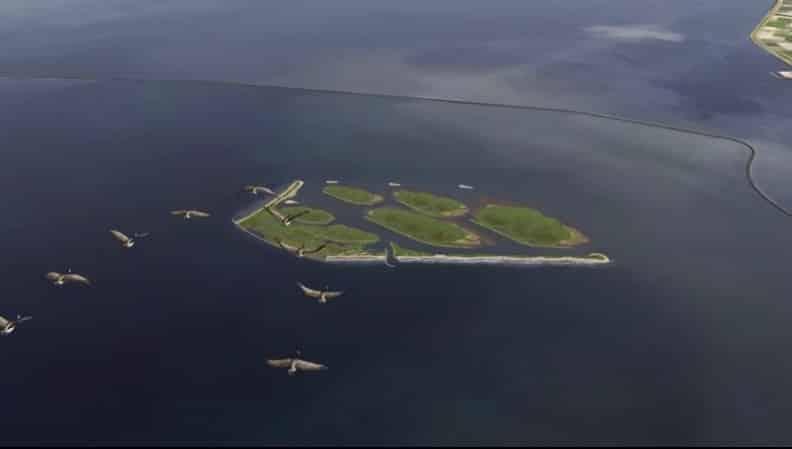 Natuureiland Marker Wadden eerste zelfvoorzienende eiland van Nederland