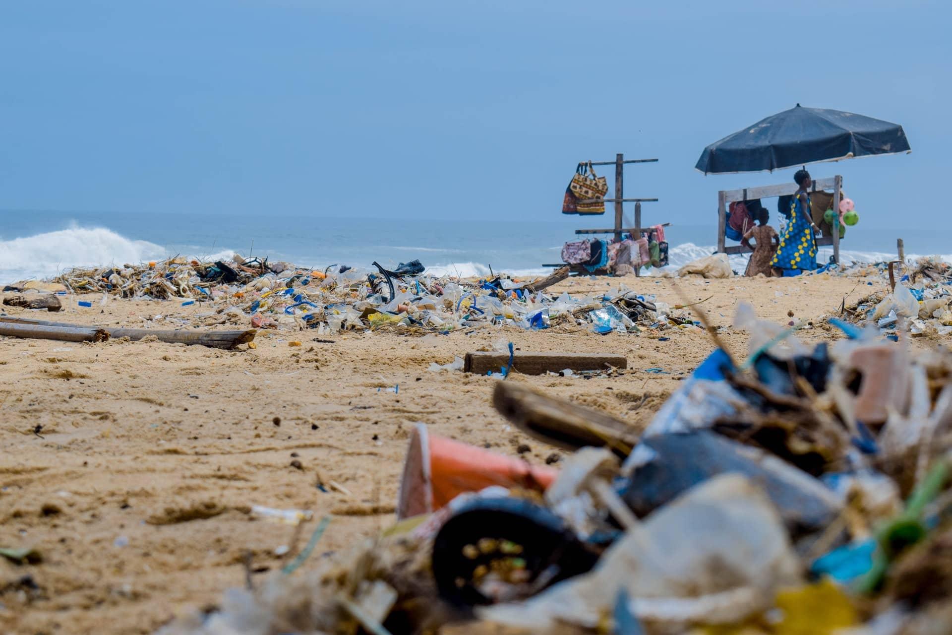 huizen en wegen van plastic