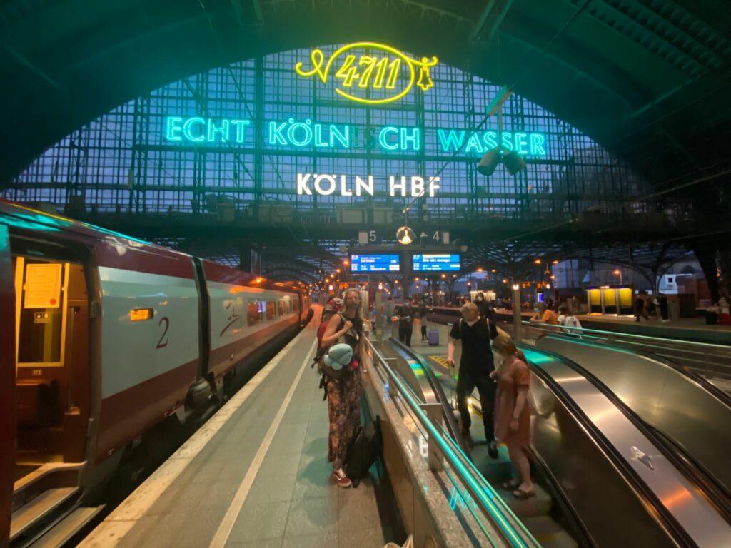 treinreizen door Europa