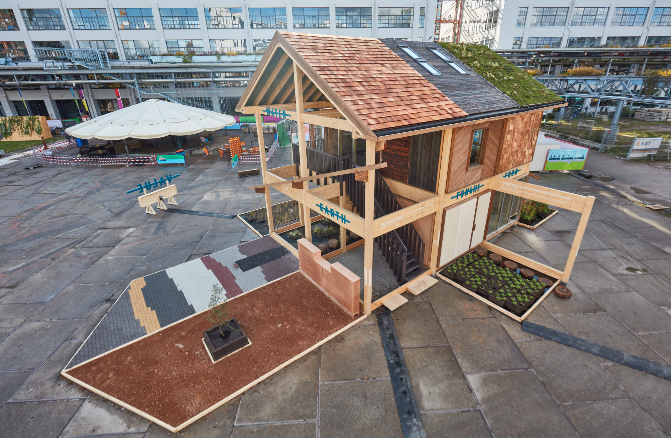 biobased huis Dutch Design Week