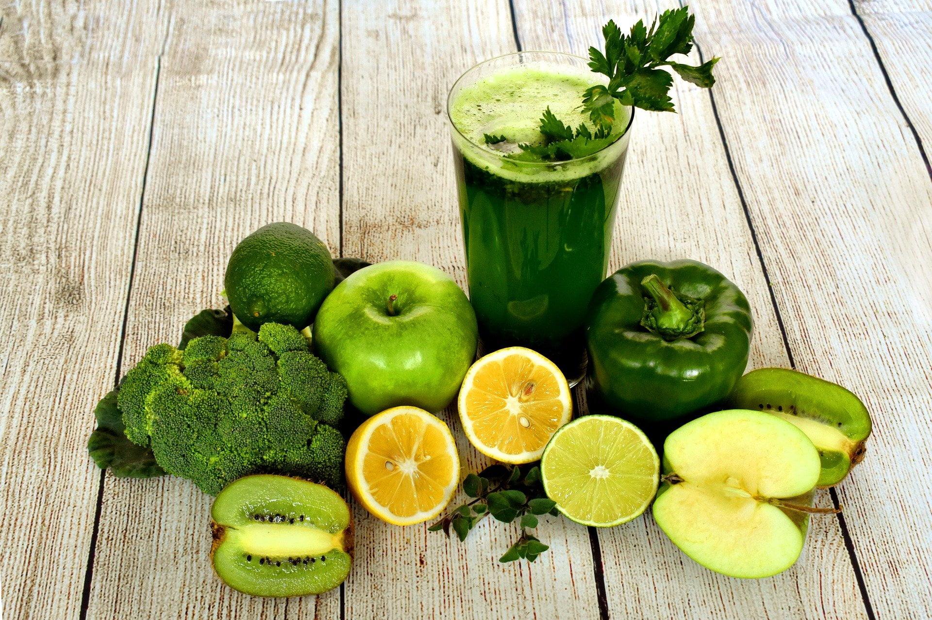 fruit en groenten smoothie vegan