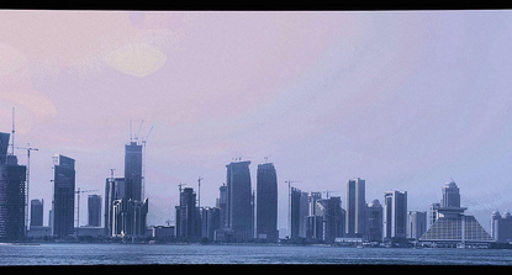 Zonnepanelen Qatar. Foto: Zitona, Flickr