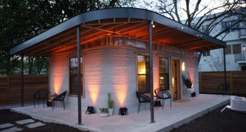 3D geprinte huizen