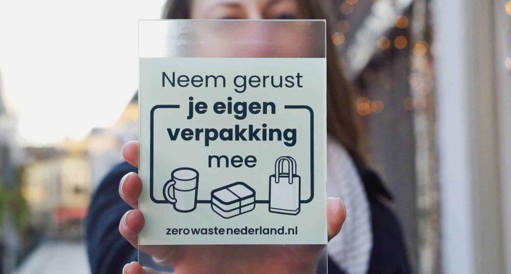 zero waste wandelen