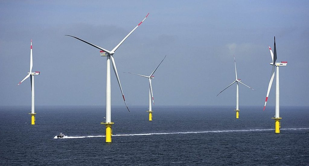 Riffgat windpark. Foto: Riffgat.de