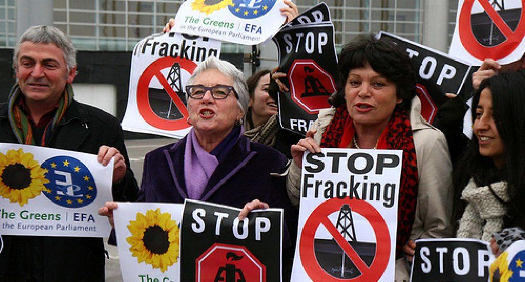 Protest tegen schaliegas. Foto: Greensefa, Flickr
