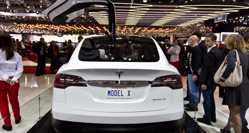 De Tesla Model X gooit hoge ogen. Foto: Luchinho Photography, Flickr