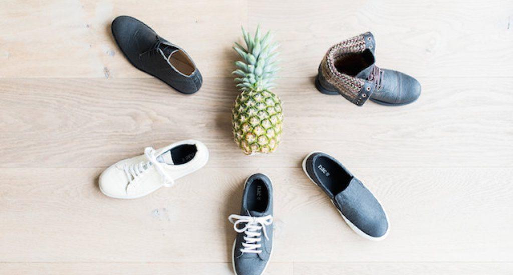 EN& schoenen ananasleer