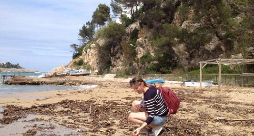 Elze op strand 2