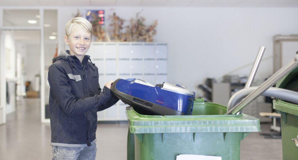 Tijdens de E-waste race zijn al bijna 1 miljoen electronica-apparaten ingezameld.