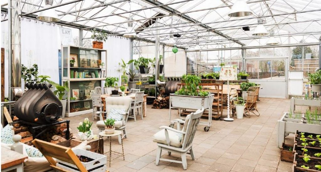urban food garden Amsterdam