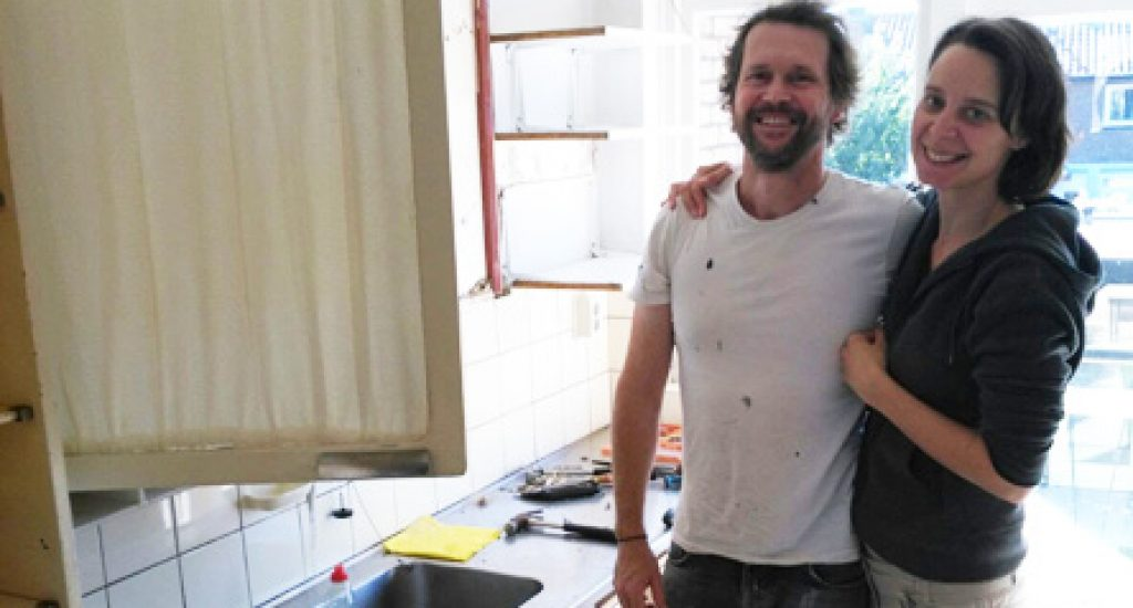 Lisa en Frank verbouwden hun keuken met duurzame en tweedehands materialen