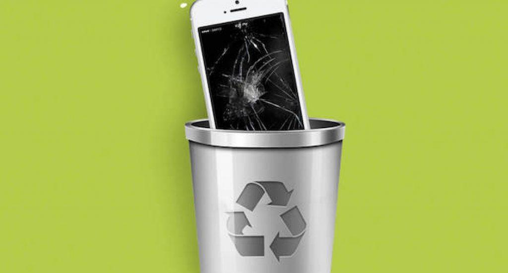 recycle je telefoon