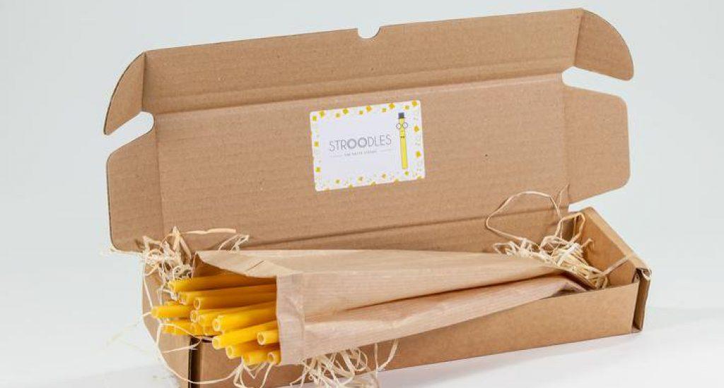 stroodles een alternatief van pasta voor het plastic rietje