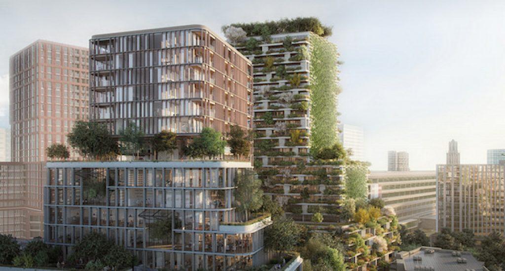 Verticale bossen - Wonderwoods - G&S Vastgoed KondorWessels Projecten / A2Studio.