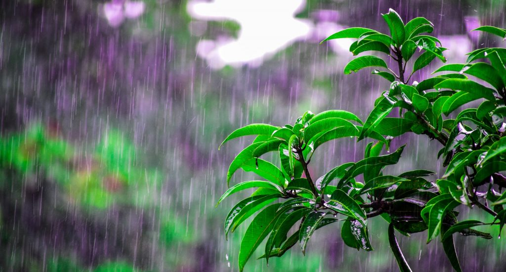 energie uit regenwater
