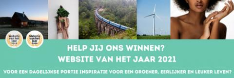 banner Website van het jaar 2021