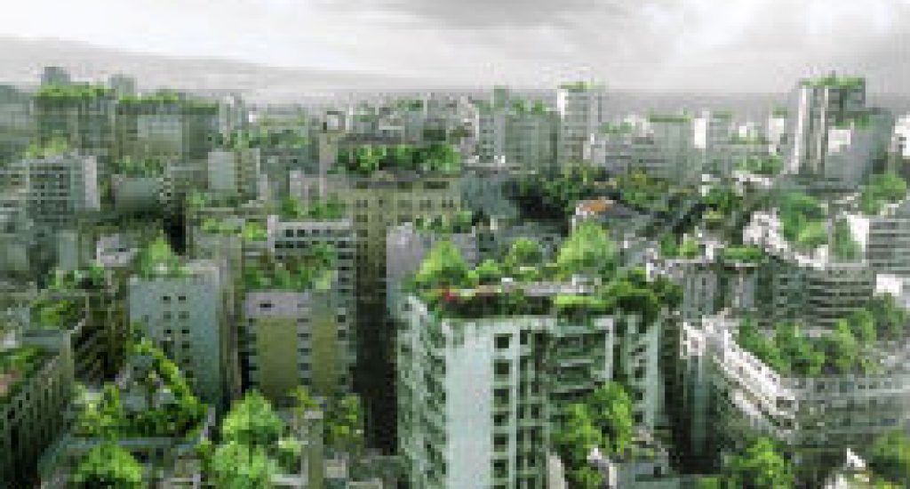 groene stad. Foto: Urbancityforrest