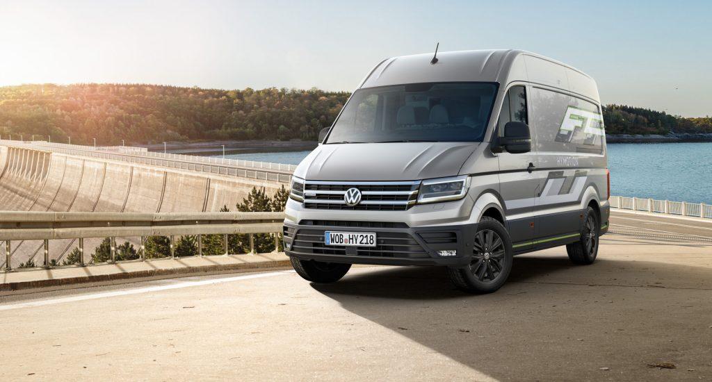 Volkswagen Crafter Hymotion bedrijfswagen op waterstof